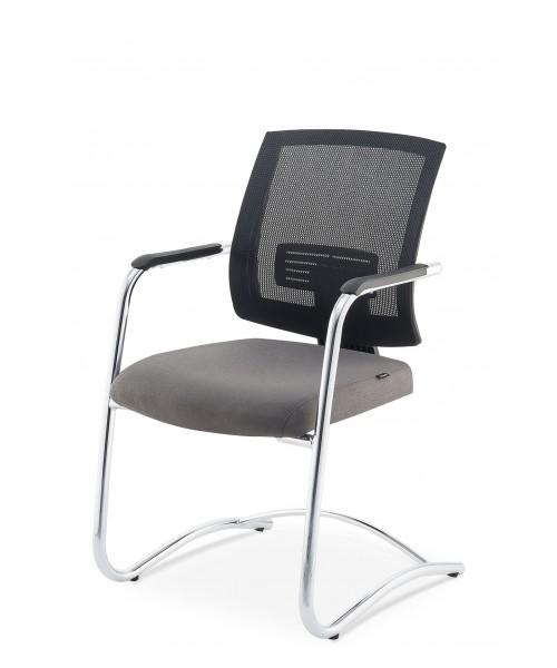 Cadeira Up Fixa (base cromada)