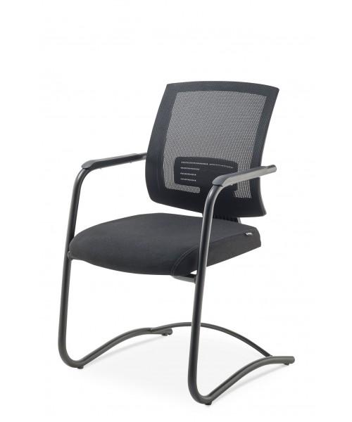 Cadeira Up Fixa (base preta fosca)