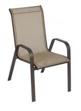 Cadeira Summer para área externa Marrom