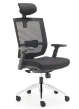 Cadeira Opus com apoio de cabeça